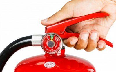 Extintores de incêndio e seus tipos
