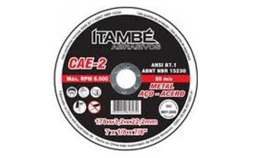 Disco de Corte 7X1/8X