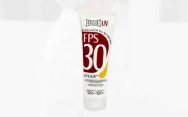 Protetor Solar LUVEX UV FPS 30 – Bisnaga 120ml/g