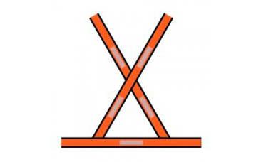 Colete de Sinalização Tipo X