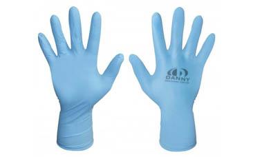 Luva Nitrila Azul Sensiflex C/50 PRS