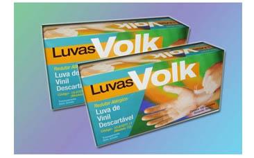 Luva Vinil sem Amido – P, M, G e XG – Volk