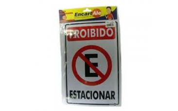 Placa PVC Encartelada 15X25