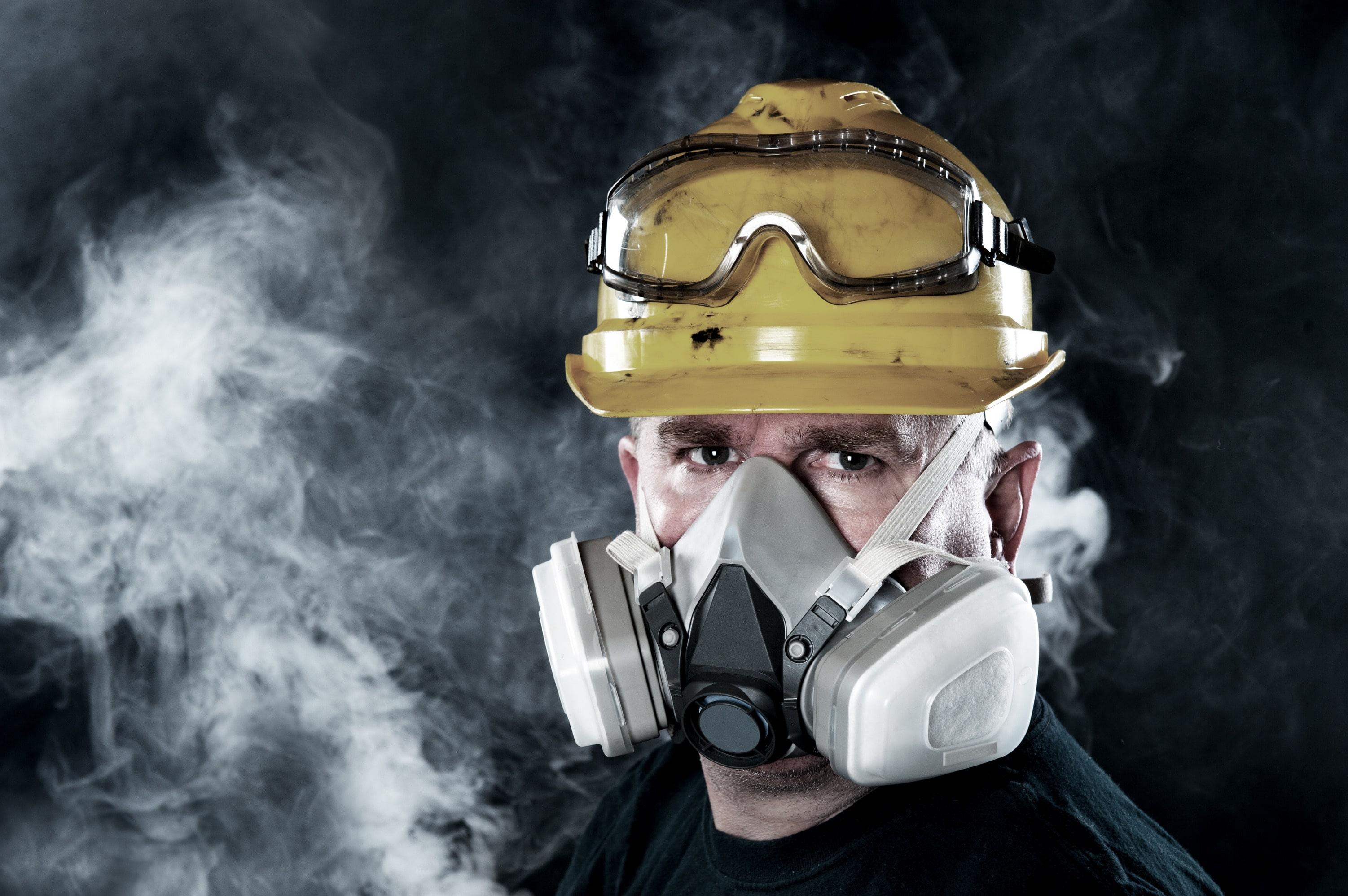 A respiração é apenas mais um dos meios de ocorrer acidentes de trabalho. f98a8ff2ac