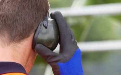 Utilização correta do protetor auricular