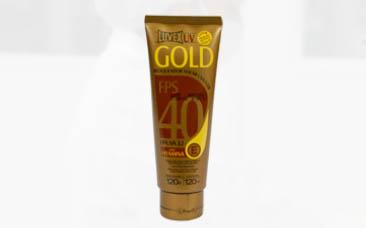 LUVEX UV FPS 40 GOLD – Bisnaga 120 ml/g