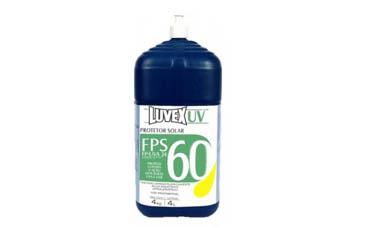 Protetor solar Luvex UV FPS 60 Bombona 4kg