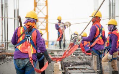 Cinto de segurança para obras civis