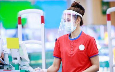 Protetor facial acrílico de qualidade você encontra na Rodec Amado