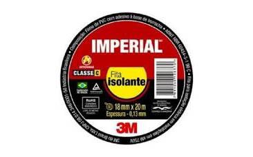FITA ISOLANTE 18 X 50 IMPERIAL 3M