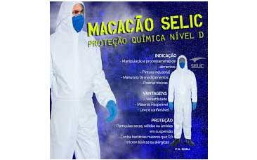 MACACÃO PROTEÇÃO QUÍMICA SELIC G