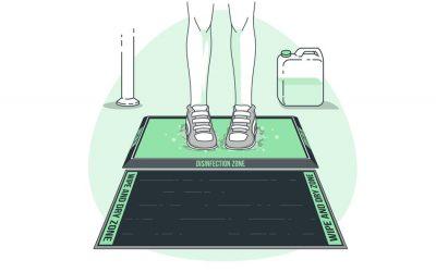 Tapetes sanitizantes – nova proteção desinfetante para a entrada do seu condomínio